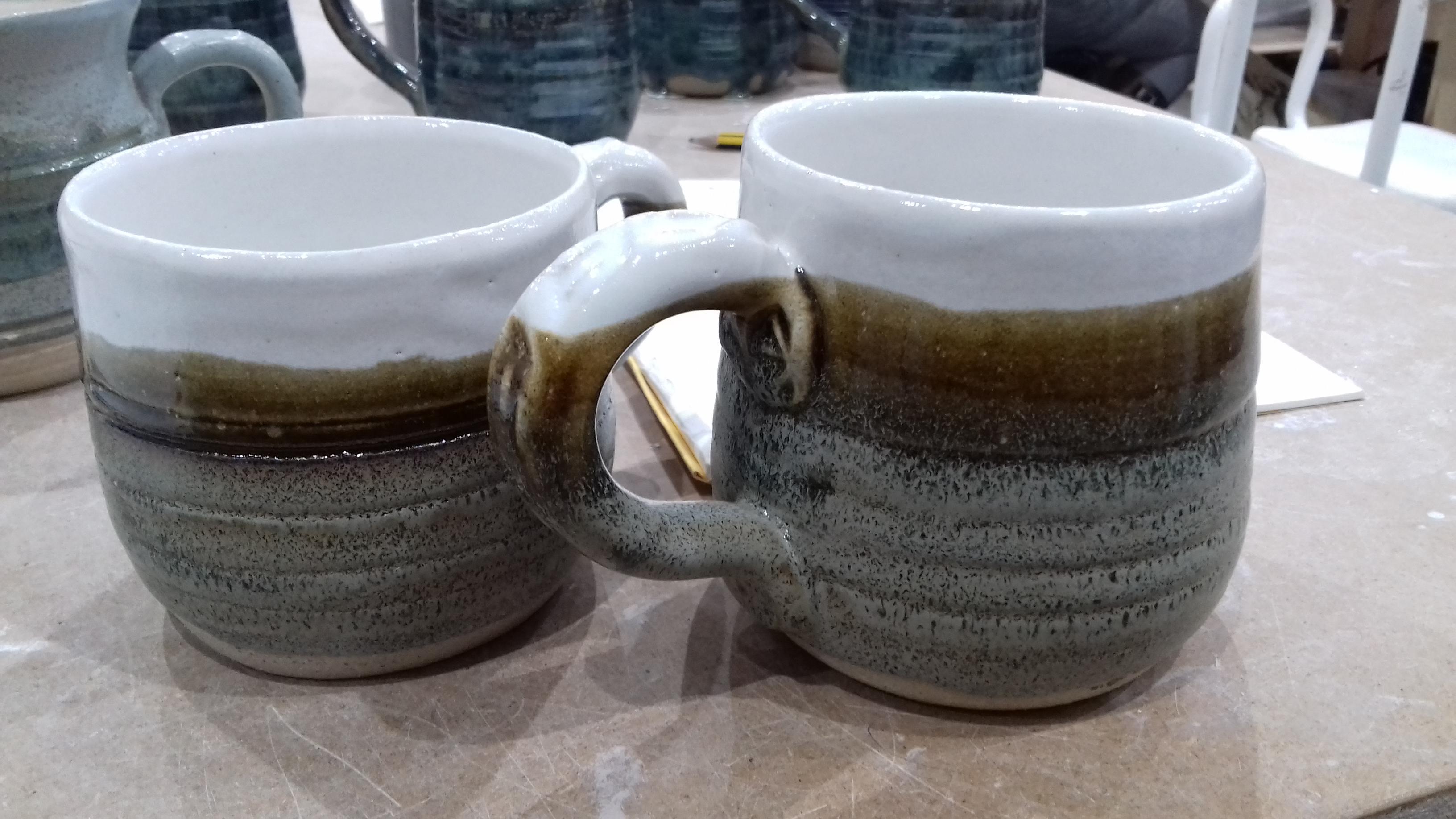 Nice overlapping glazes