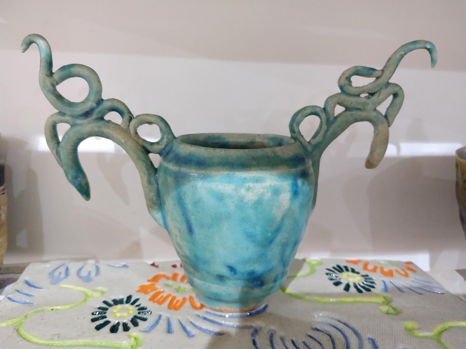 Delicate vase