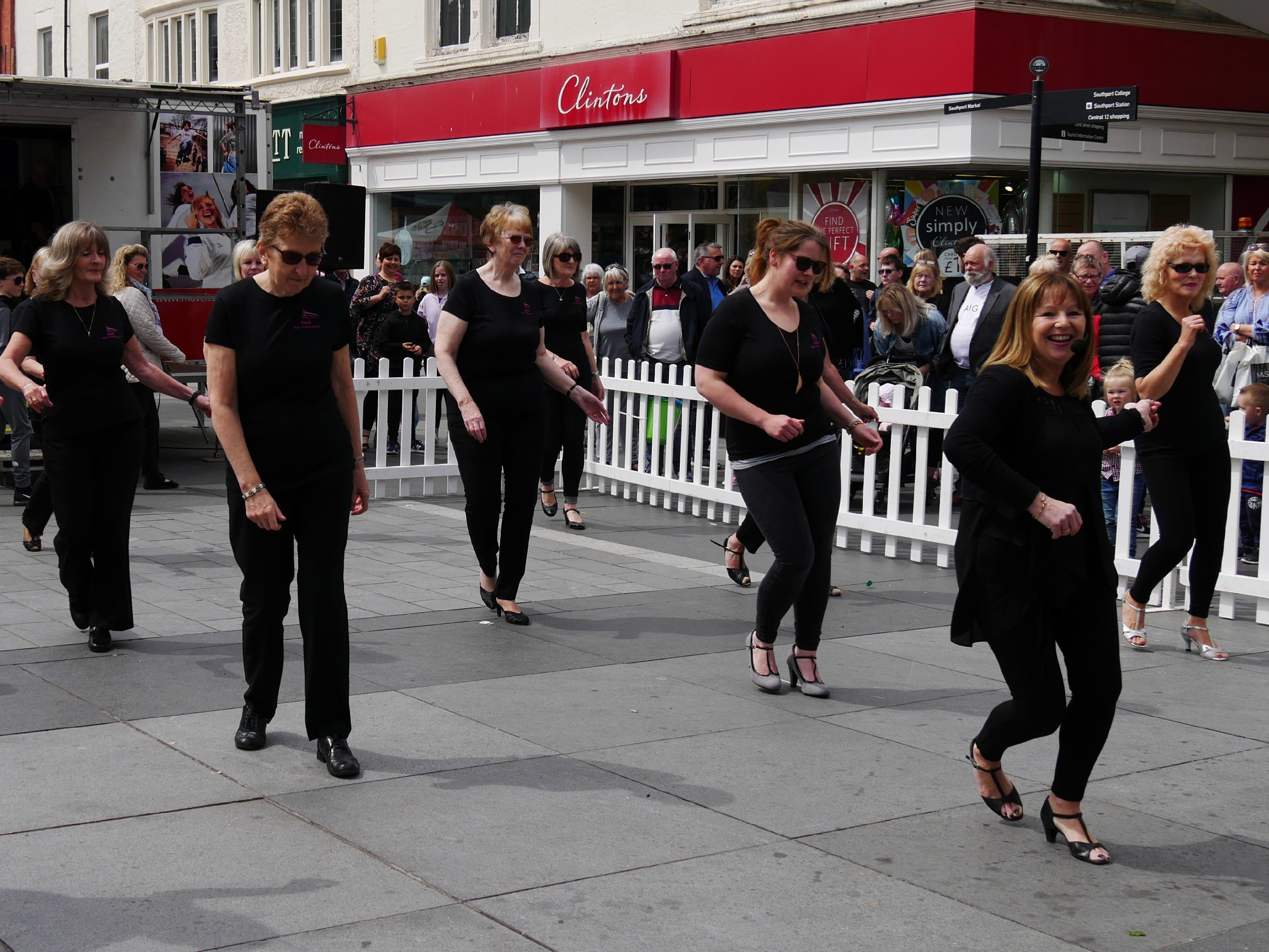 Dancing in Chapel Street