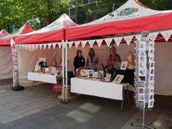 SCA Craft stall