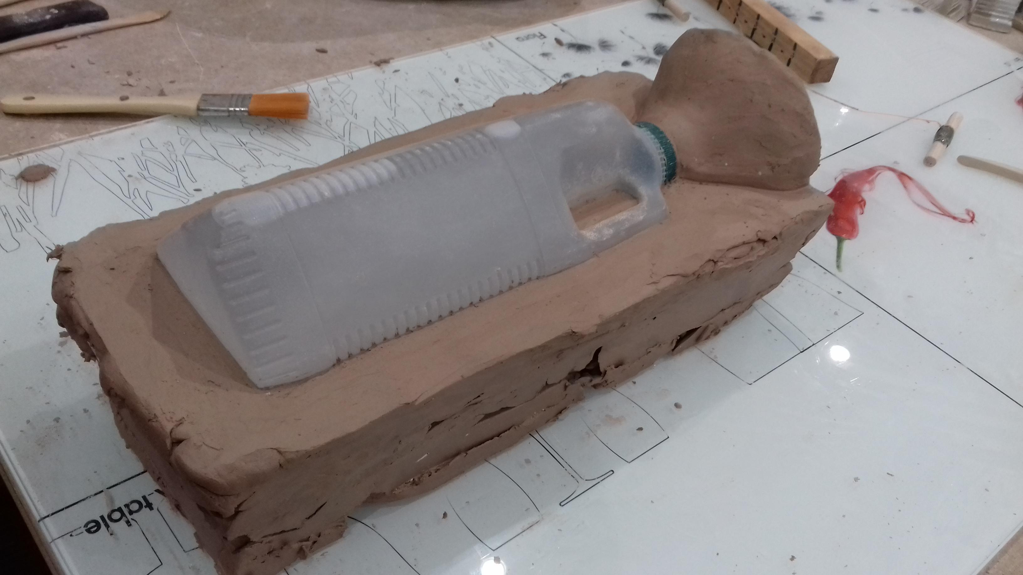 Bottle mould 08