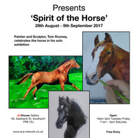 Tom Rooney - Solo Exhibition - Spirit of the Horse
