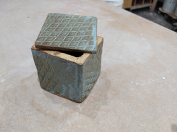 Blue grey box