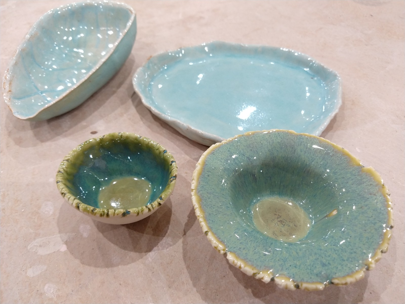 Hand formed dishes
