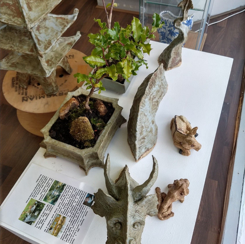 Japanise influenced pottery