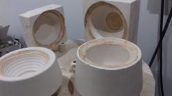 New plaster moulds