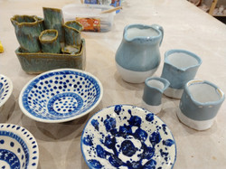 Mix from the kiln