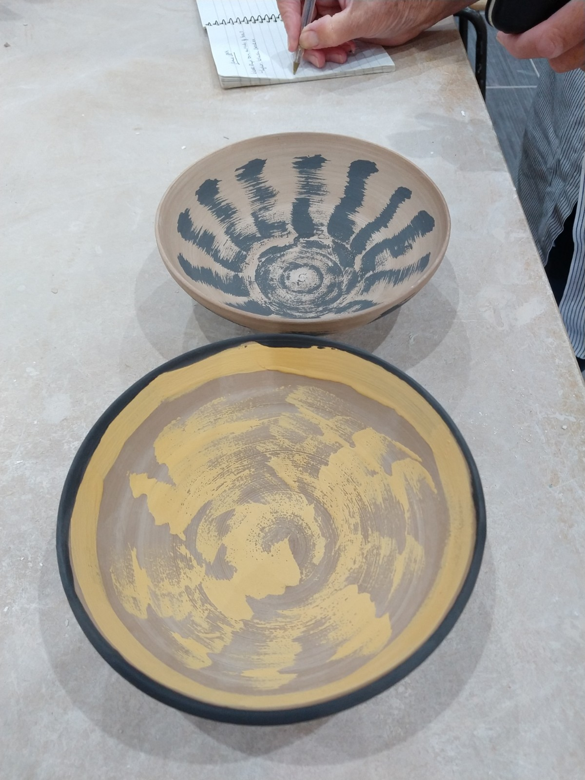 Slip on bowls
