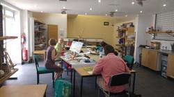 Angelas group at work