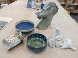 A few more pots from this firing
