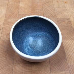 Bath potter blue grey matte B292 1240-13