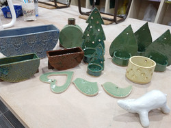 A festive selection from the kiln