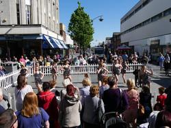 Dancing in Chapel Street