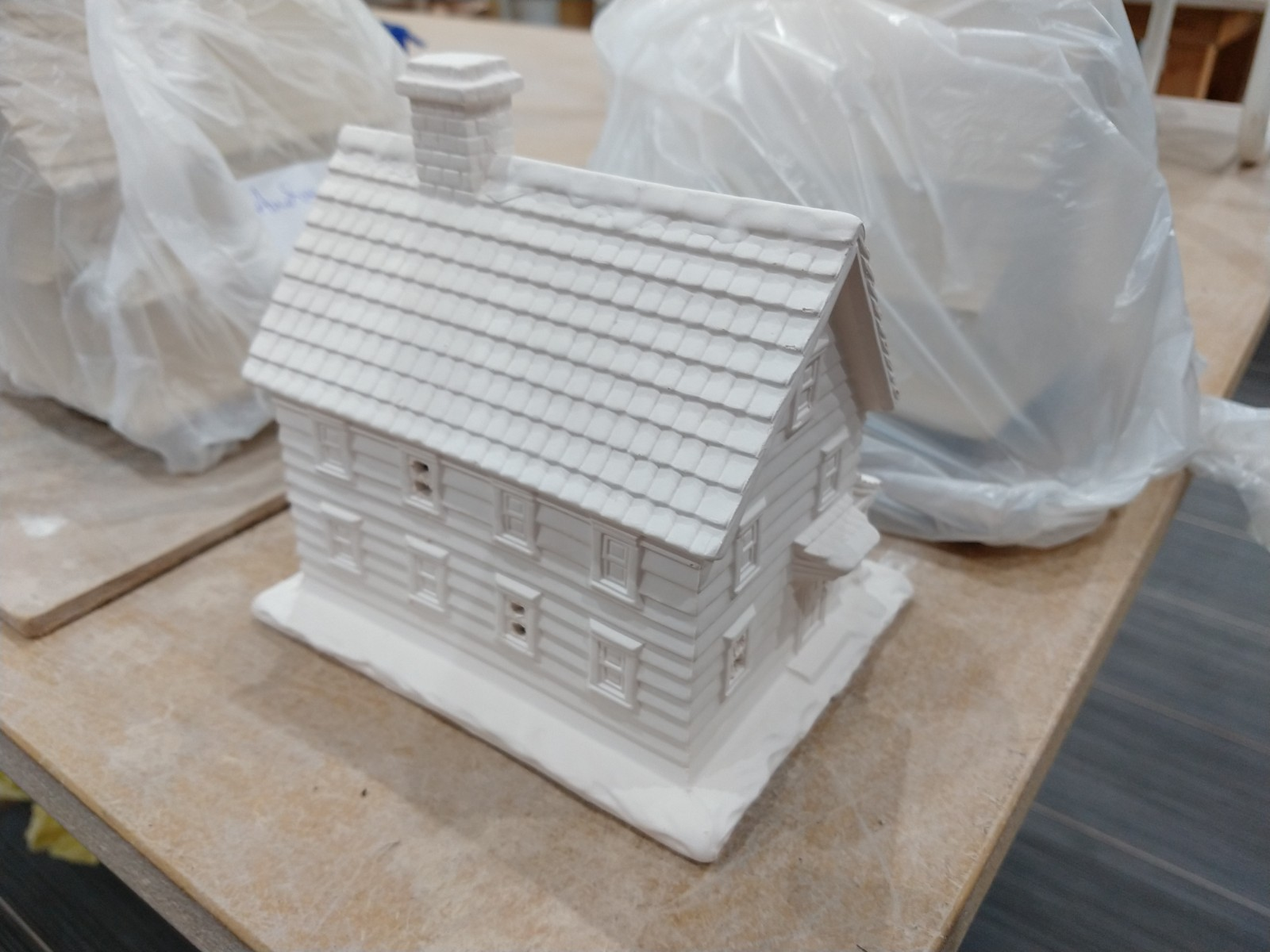 Bisuit fired cottage
