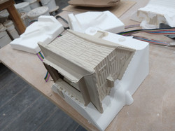 Cottage in mould 03