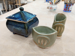 Out of the kiln in January