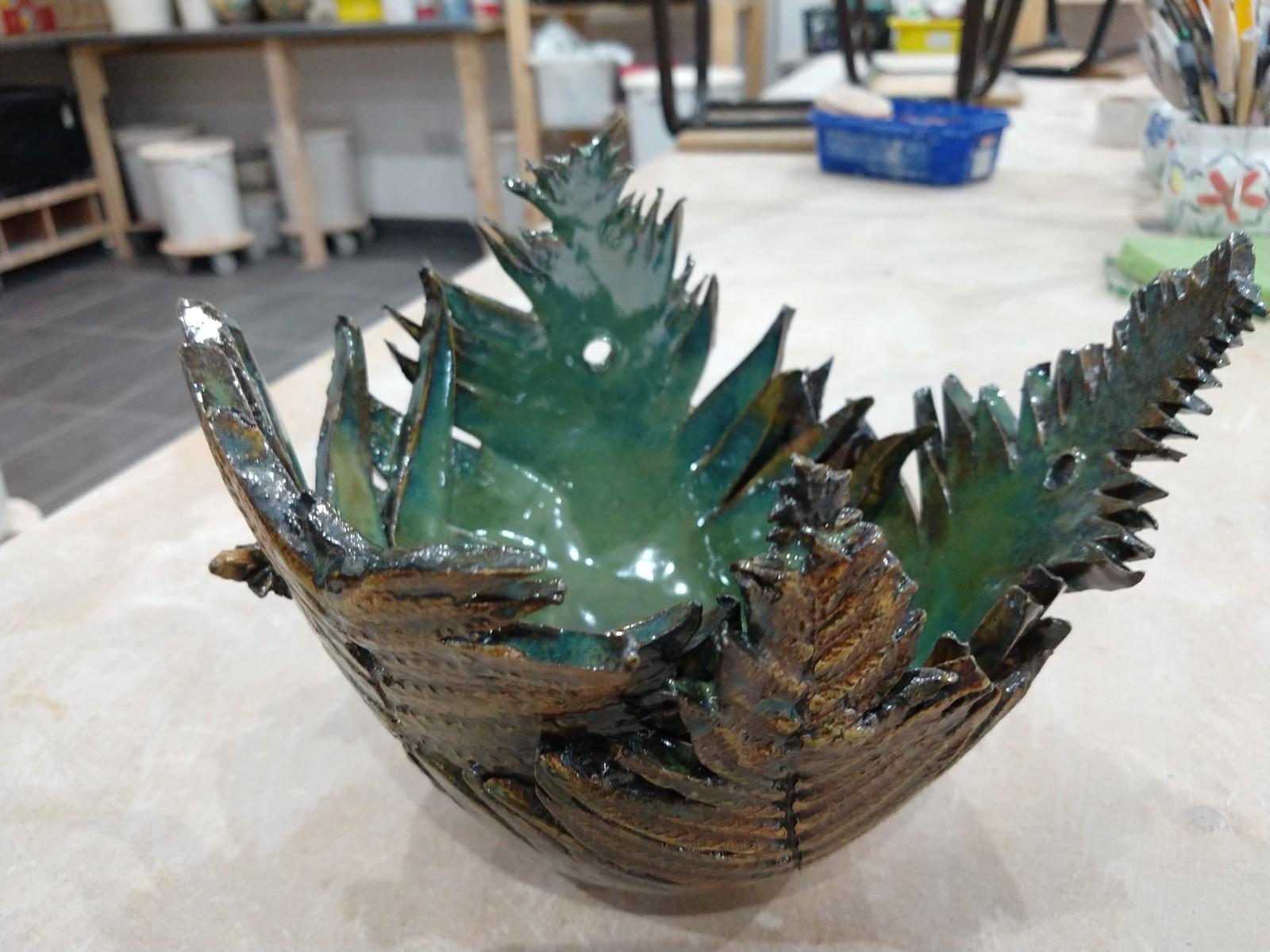 Fern bowl