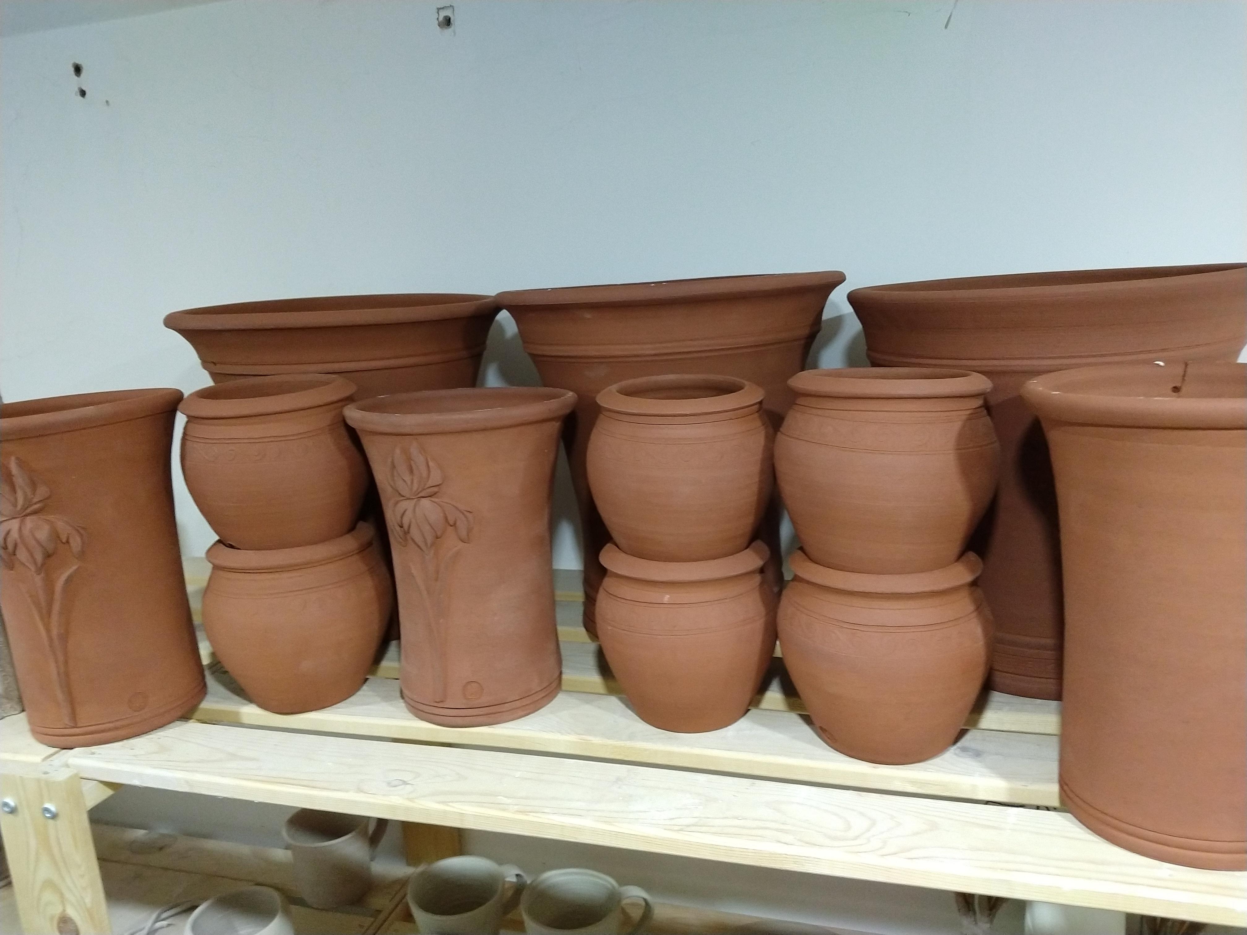 Steve Kingsford Garden Pots