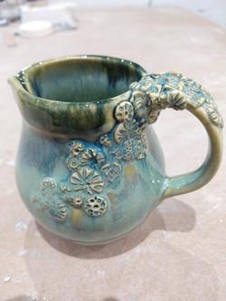 Slip cast jug