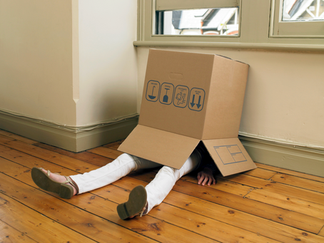 Students Welcome to Stay in Rooms Over Break if They Put Themselves in Large, Taped-up Cardboard Box