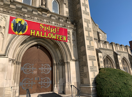 Unused Thompson Chapel to be converted into Spirit Halloween™
