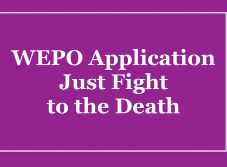 WEPO Application Just Fight to the Death