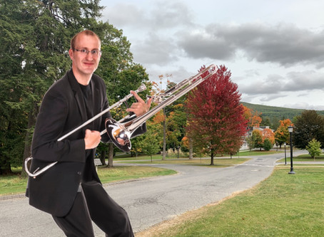 Trombone Thursday Brings the Coolest Cats at Williams Out of the Bag