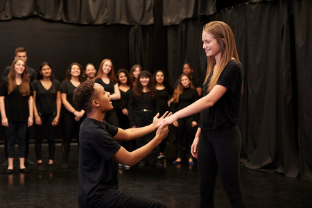 Improv Comedy Kid Keeps Trying to Do Scenes Where He Has a Girlfriend