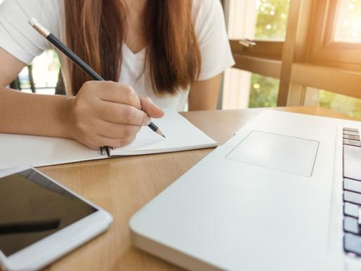 6 dicas de como manter a rotina de estudos em casa