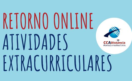Retorno Online das Atividades Extracurriculares