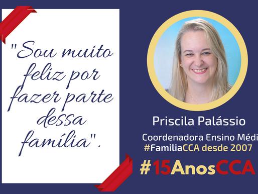 Depoimento da #FamíliaCCA nesses #15AnosCCA