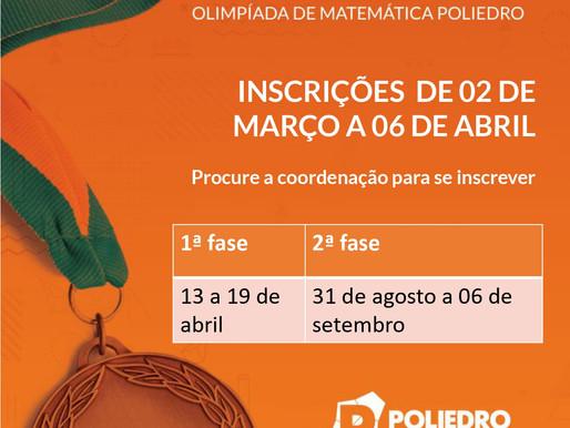 Olimpíadas de Matemática Poliedro