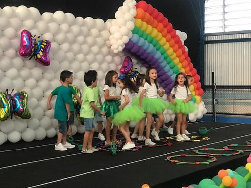 A Festa de Finalização da Educação Infantil