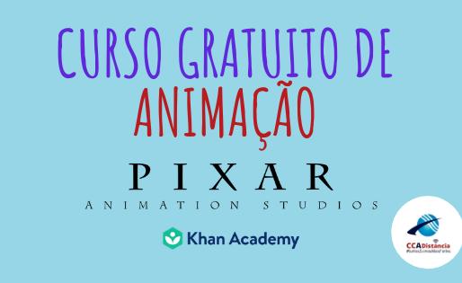 Curso de animação grátis para fazer durante as férias