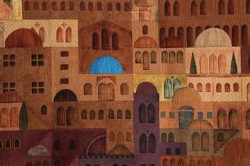 Jerusalem at dawn detail 1.JPG