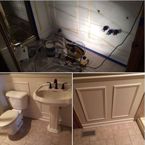 bathroom panels