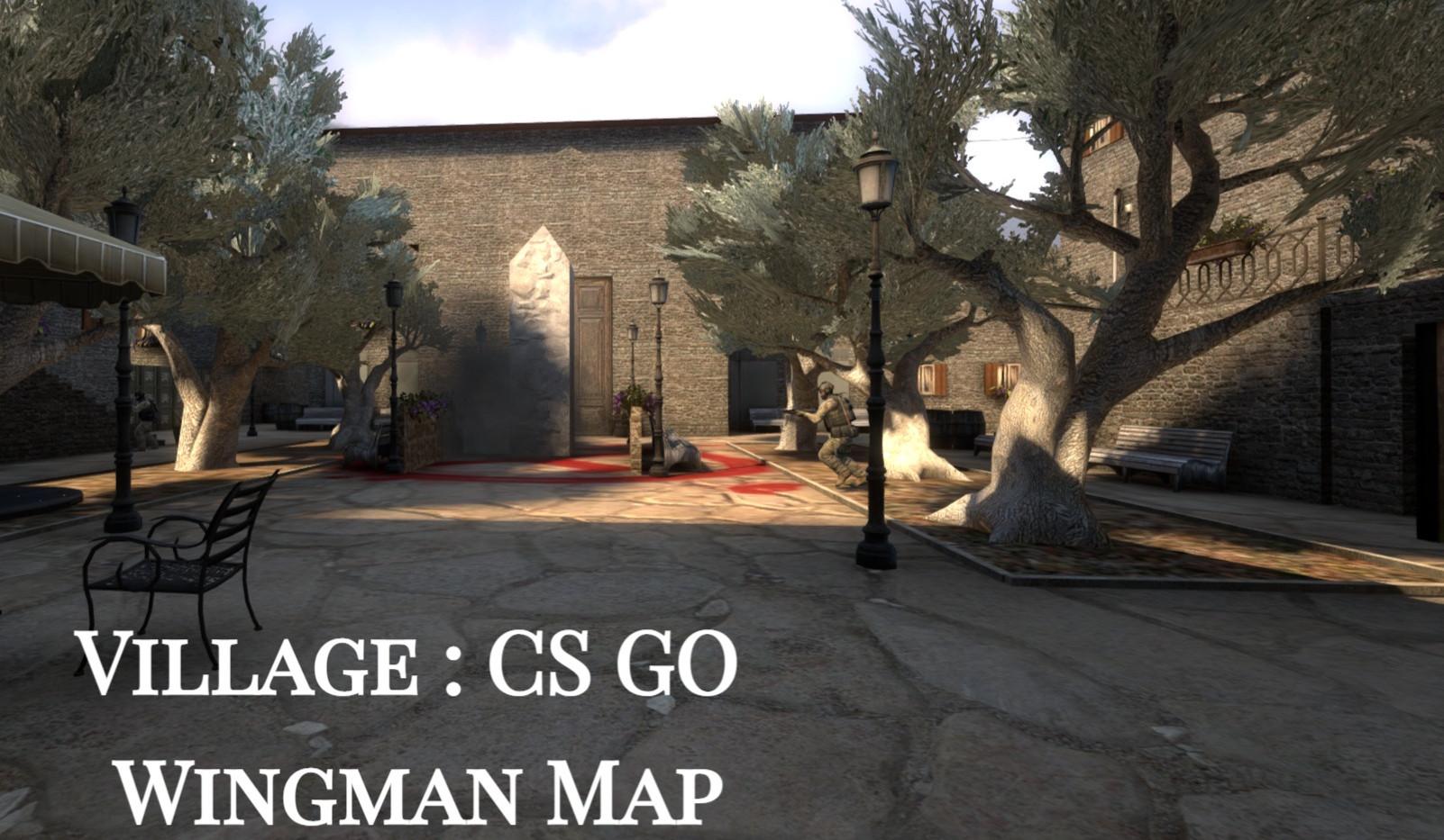 Counter Strike : Global Offensive - Wingman Map - Village