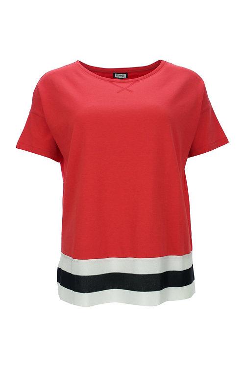boxy Shirt mit Bordüre von Kenny S.