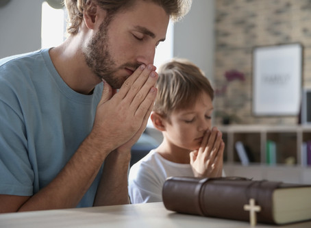 From the Pastor's Desk: Let Your Children See You Pray