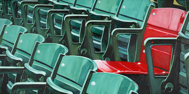 Fenway Red Seat