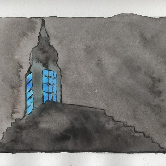 Sketchbook Blue Light Building.jpg