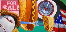 American Pie Painting 48x24