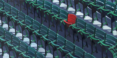 Ted Williams Red Seat.