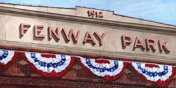 Fenway Facade 100 Years