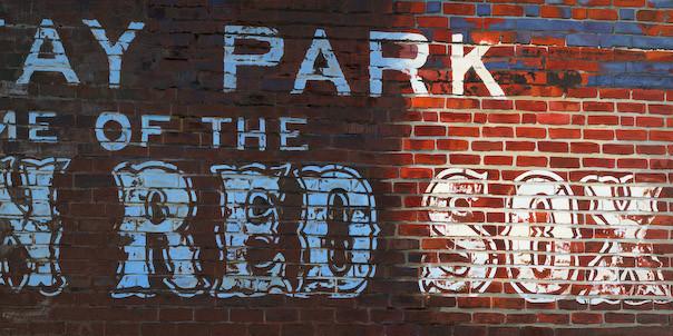 Sunrise Red Sox Brick Wall