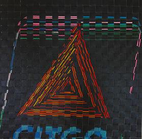 Weave CITGO Neon 24x24