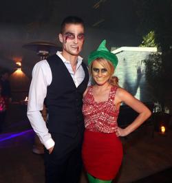 Demi Lovato Halloween Party