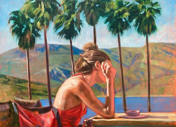 La dame aux Palmiers