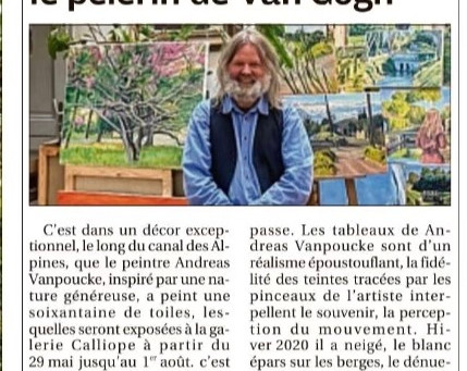Andreas Vanpoucke, le pèlerin de Van Gogh