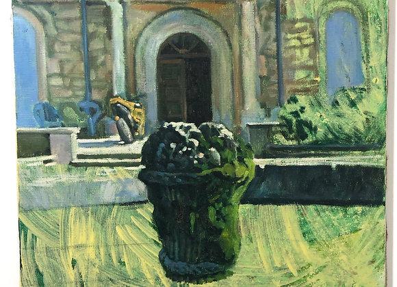 Fontaine dans le jardin de St Paul